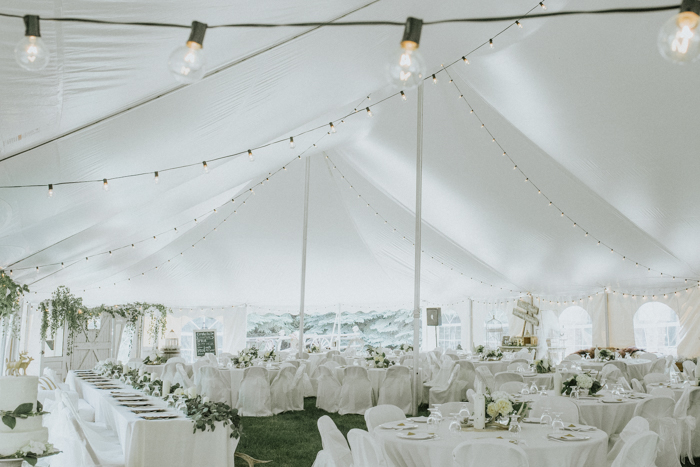 calgary backyard tent wedding