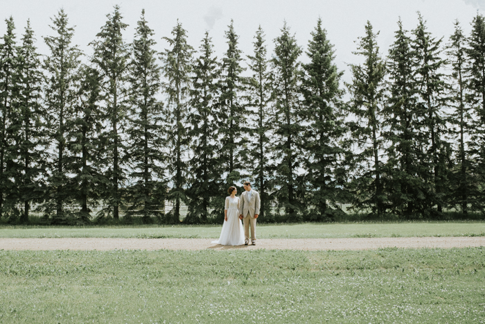country farm wedding in calgary