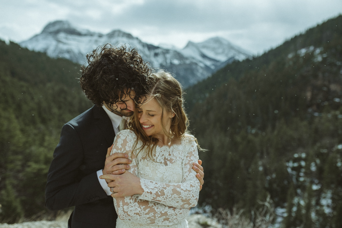 Elopement Wedding in Waterton
