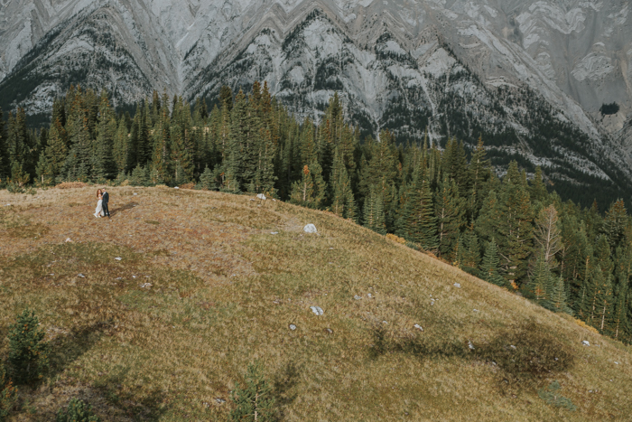 Helicopter Elopement Wedding Banff. Rockies Helicopter Weddings