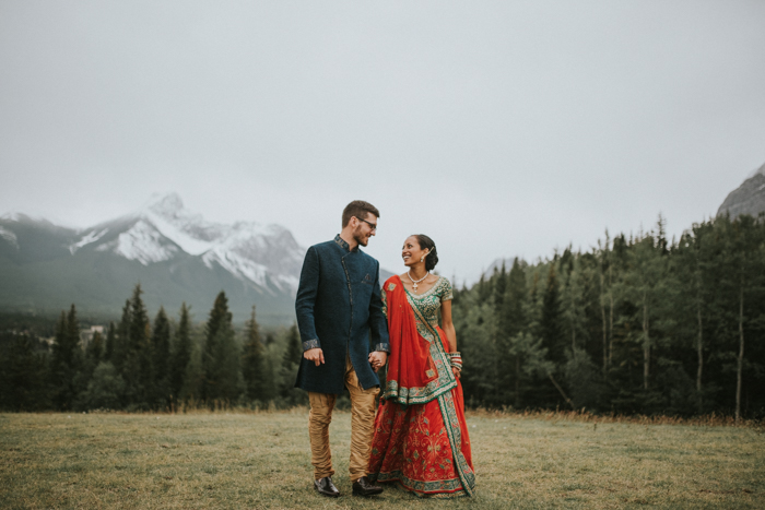 wedding at look out point in kananaskis delta lodge