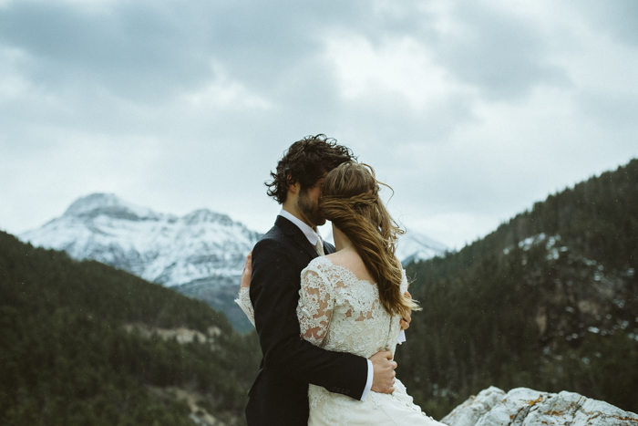 Mountain Top Elopement in Waterton Lakes National Park