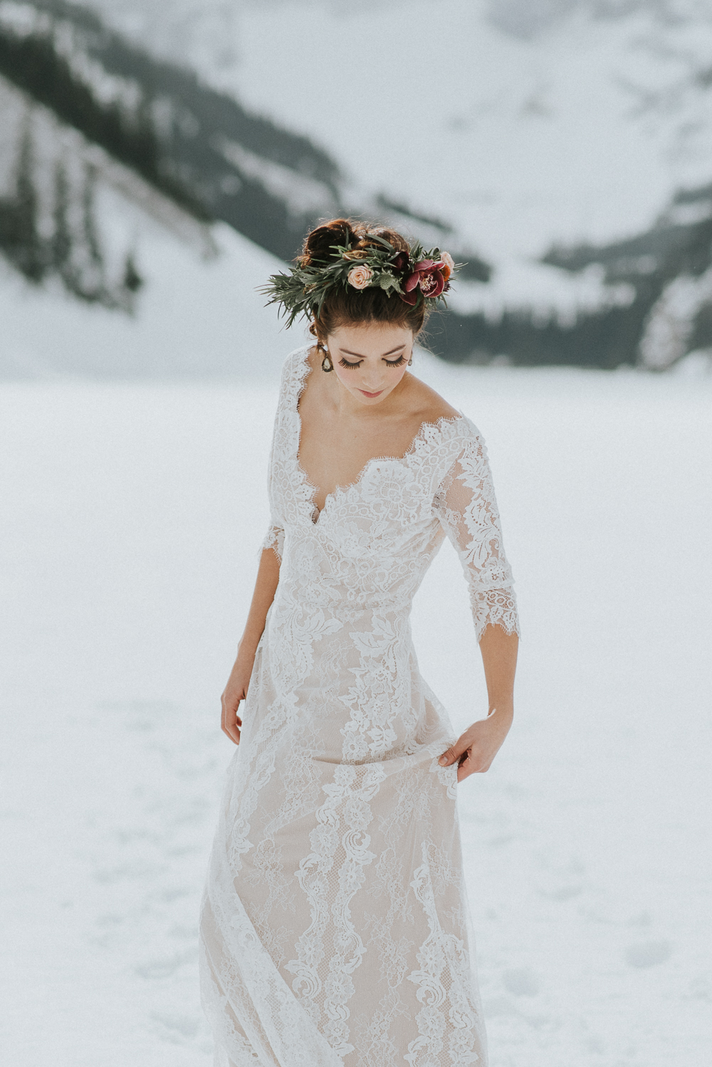 Lake Louise Winter Wedding
