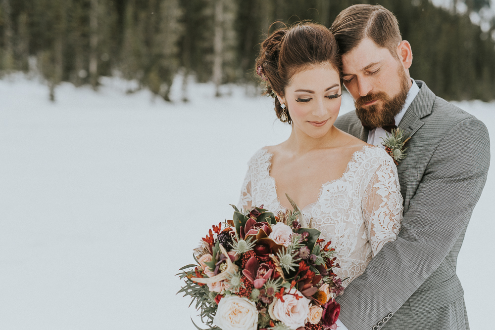Lake Louise Wedding Winter
