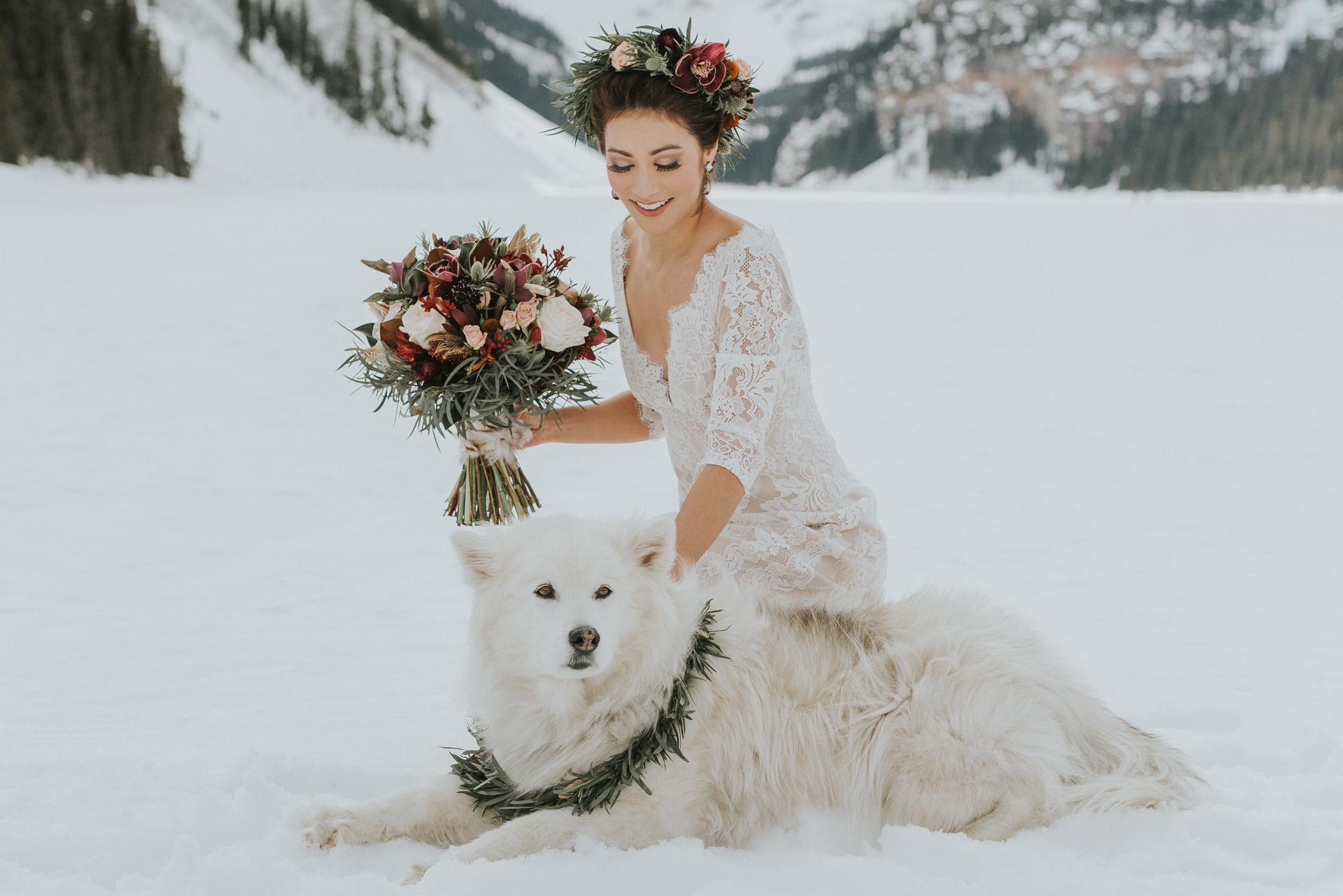 Lake Louise Winter Wedding