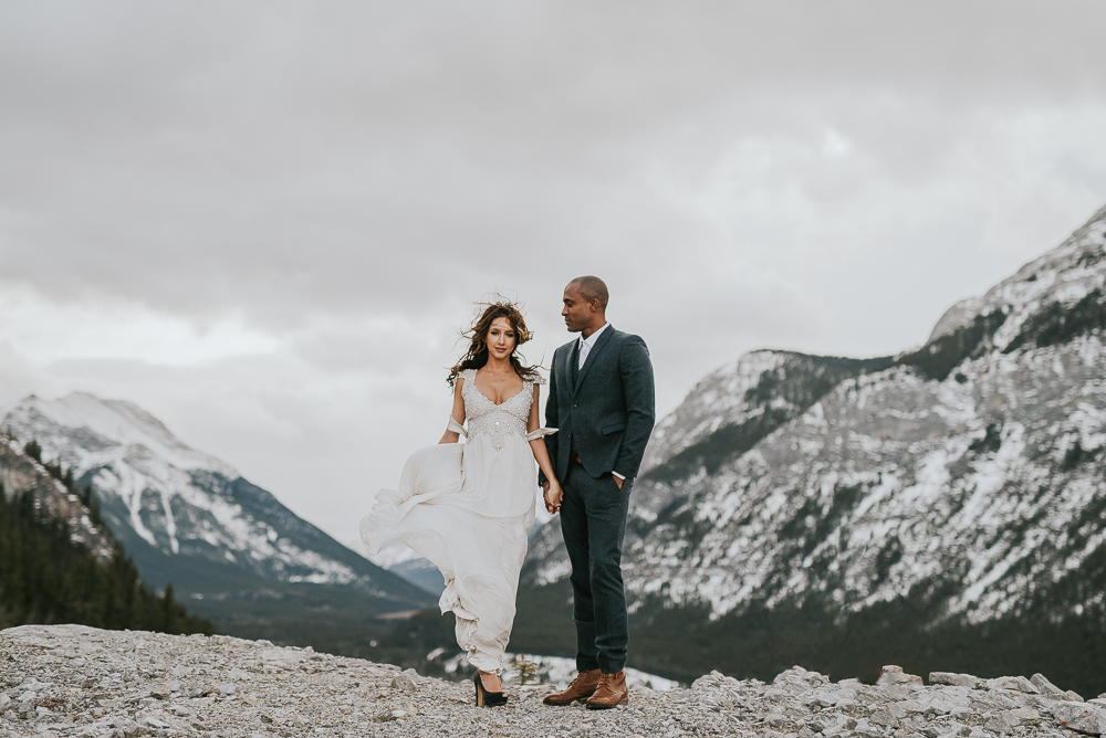 Elopement Wedding Photographer Banff