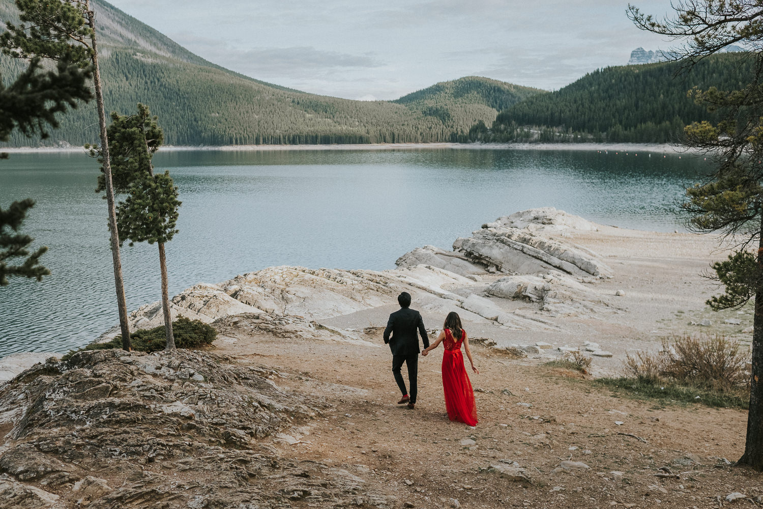 Elopement Wedding Photographers Banff-30