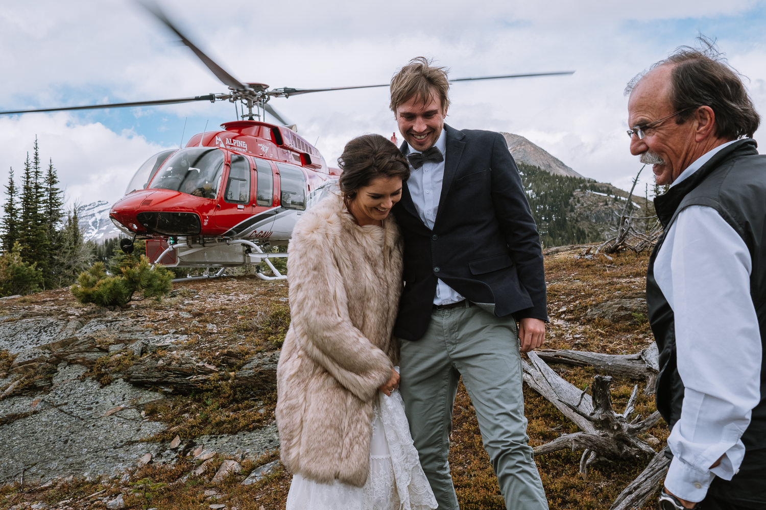Banff Wedding Photographer Helicopter Wedding Marvel Pass-10007