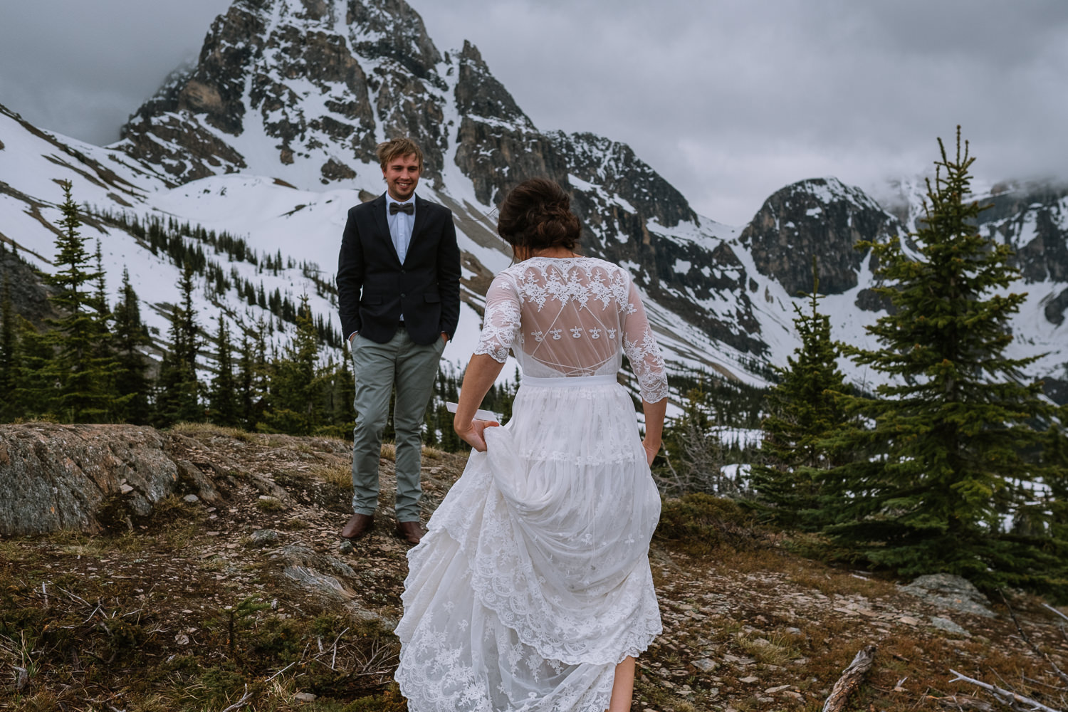 Banff Wedding Photographer Helicopter Wedding Marvel Pass-10012