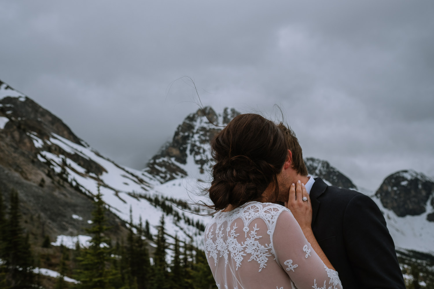 Banff Wedding Photographer Helicopter Wedding Marvel Pass-10016