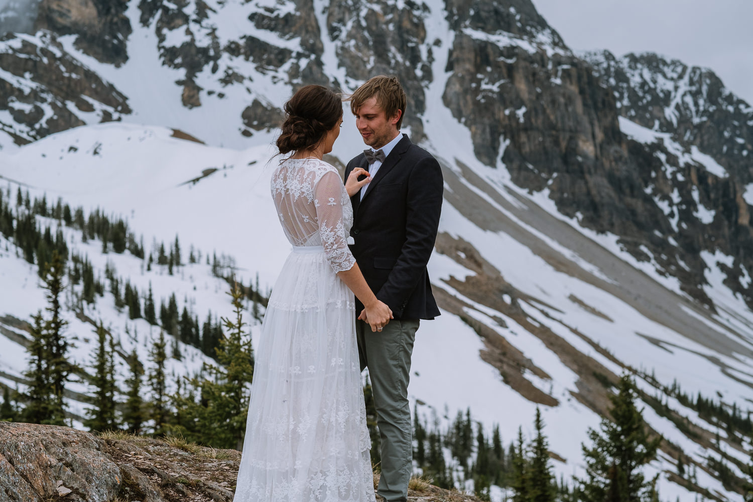 Banff Wedding Photographer Helicopter Wedding Marvel Pass-10019