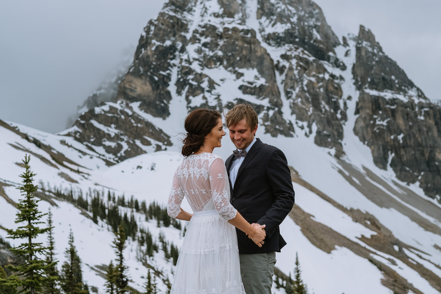 Banff Wedding Photographer Helicopter Wedding Marvel Pass-10021