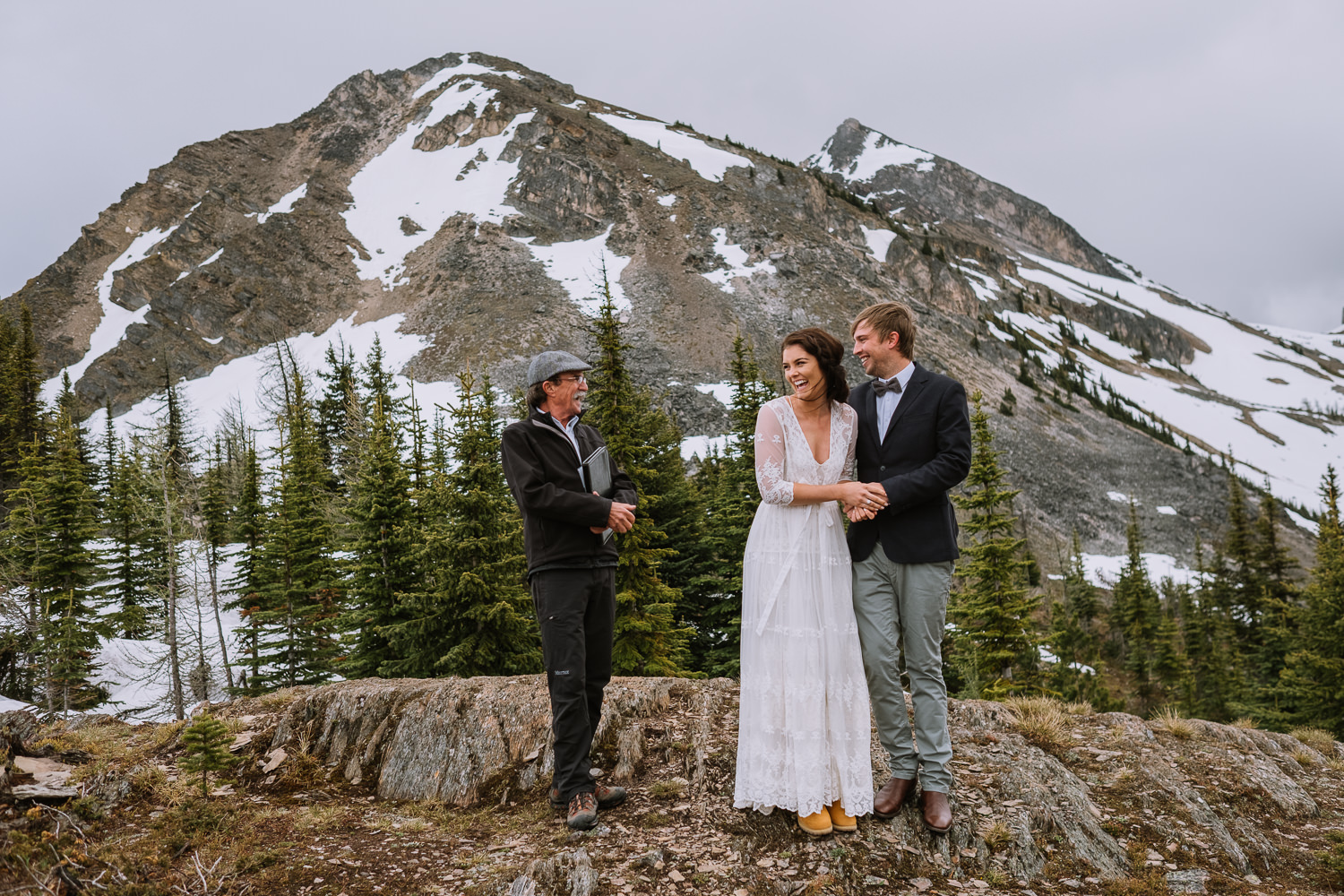 Banff Wedding Photographer Helicopter Wedding Marvel Pass-10024