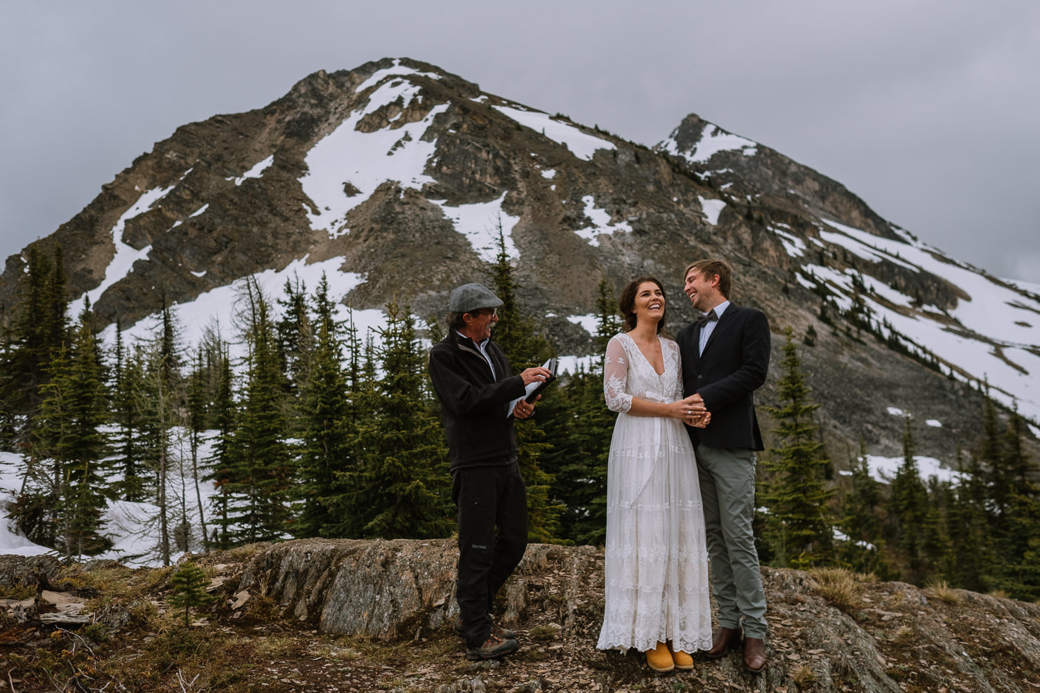 Banff Wedding Photographer Helicopter Wedding Marvel Pass-10025