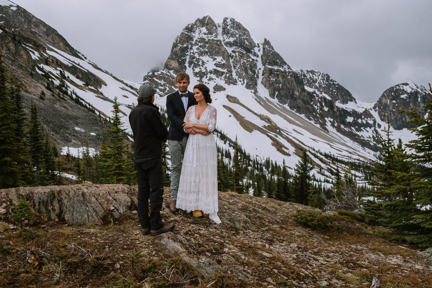 Banff Wedding Photographer Helicopter Wedding Marvel Pass-10027
