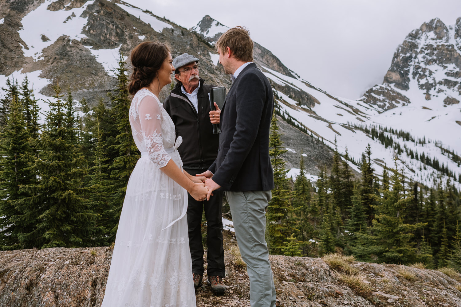 Banff Wedding Photographer Helicopter Wedding Marvel Pass-10029
