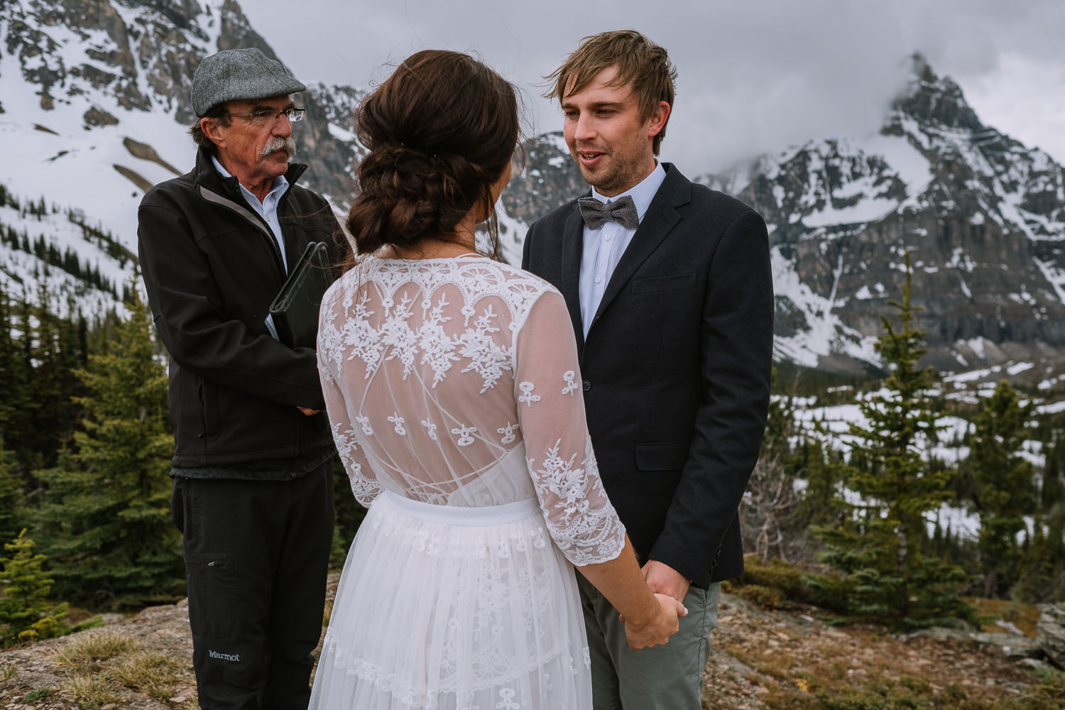 Banff Wedding Photographer Helicopter Wedding Marvel Pass-10031
