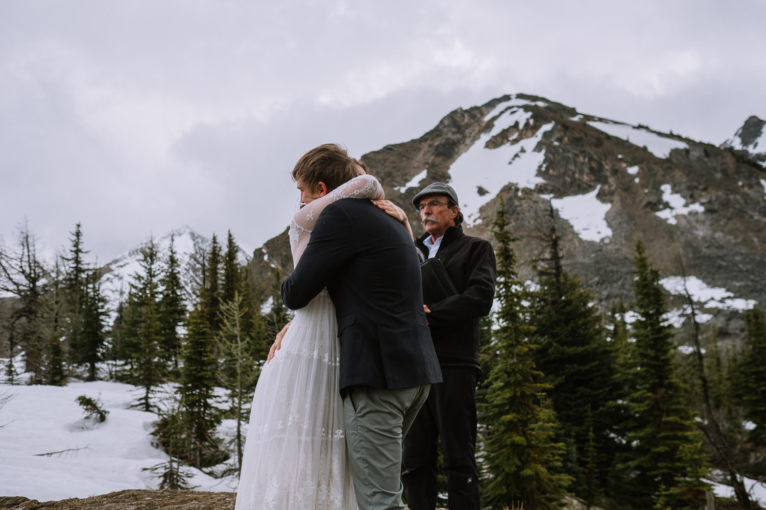 Banff Wedding Photographer Helicopter Wedding Marvel Pass-10035