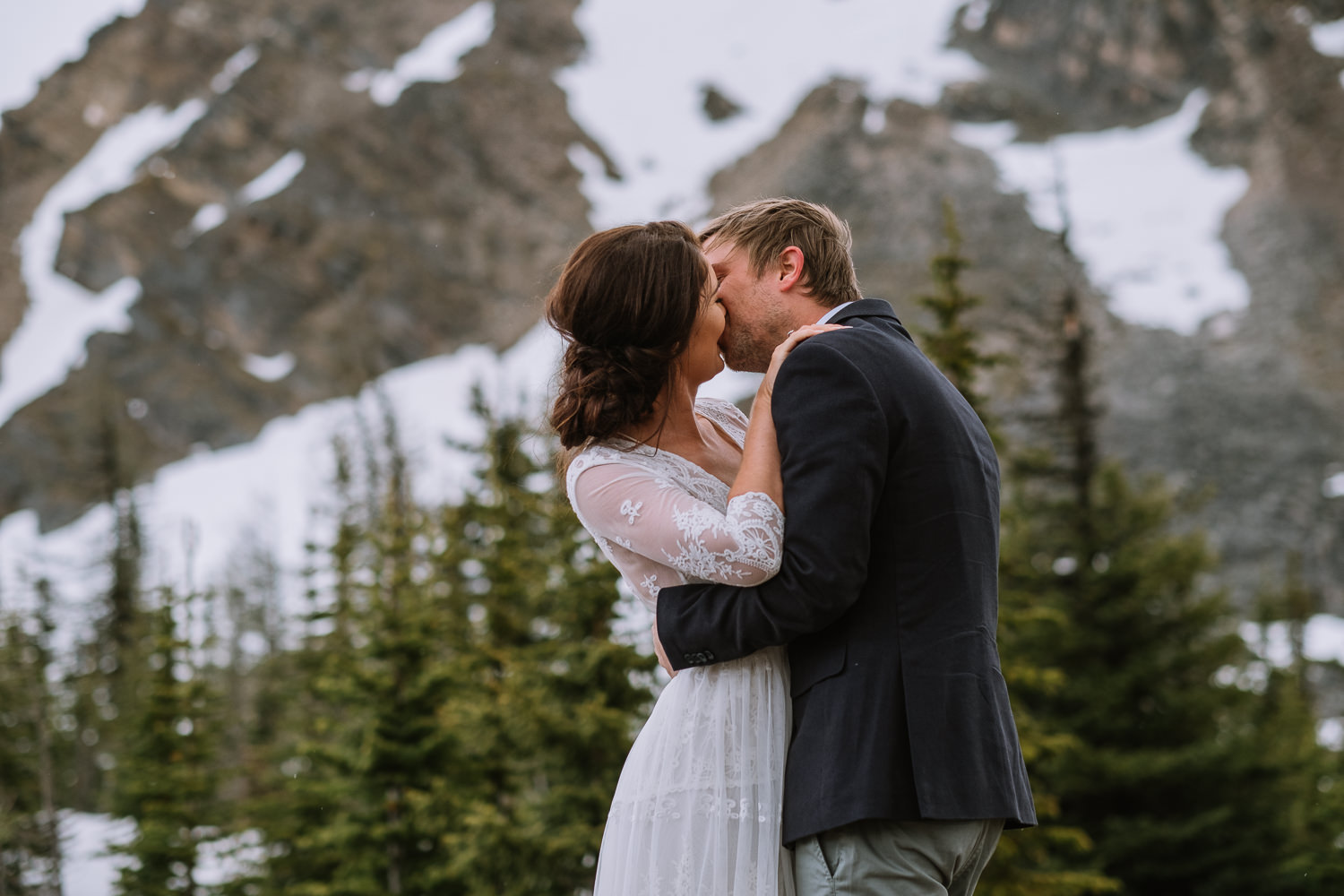 Banff Wedding Photographer Helicopter Wedding Marvel Pass-10036