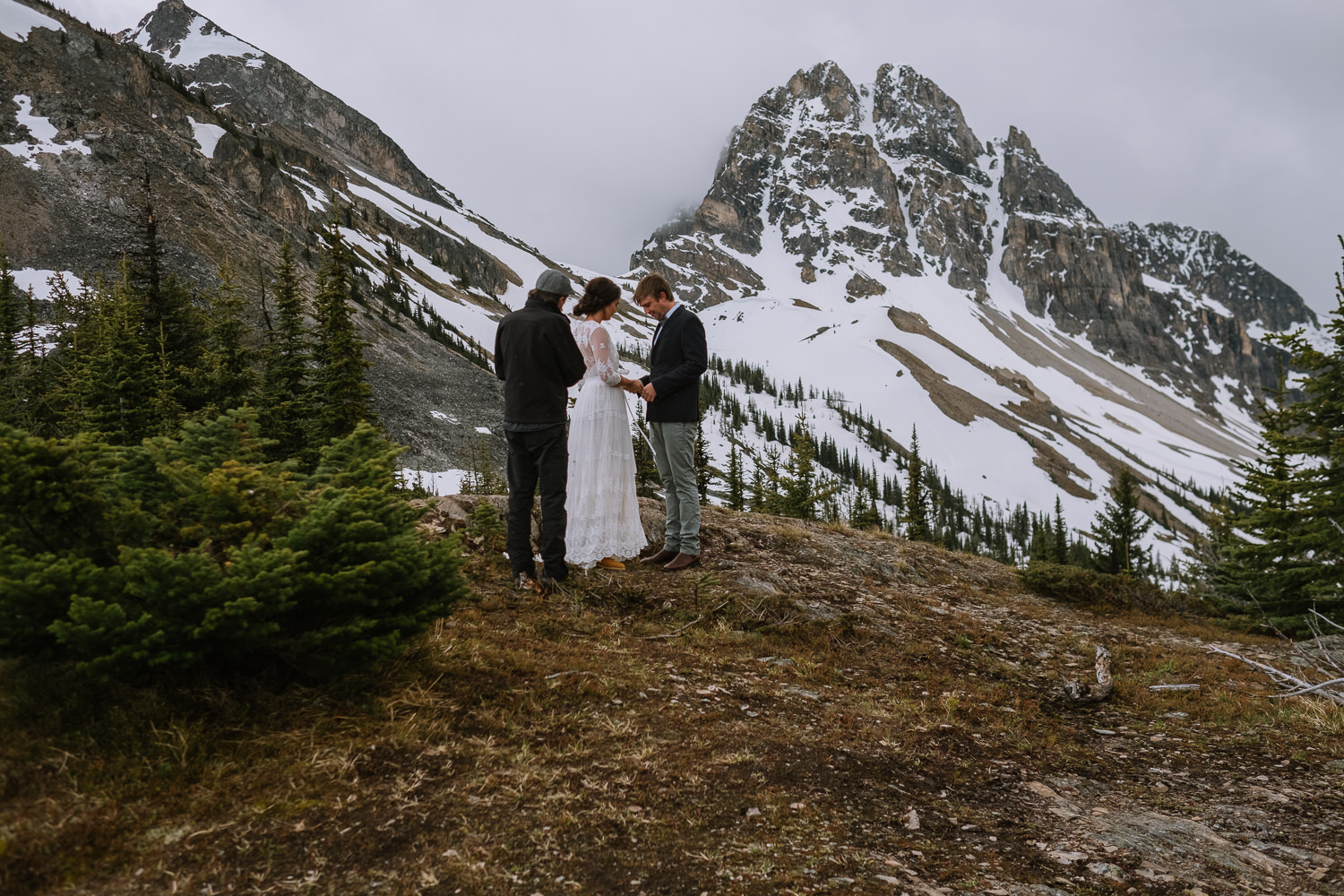 Banff Wedding Photographer Helicopter Wedding Marvel Pass-10038