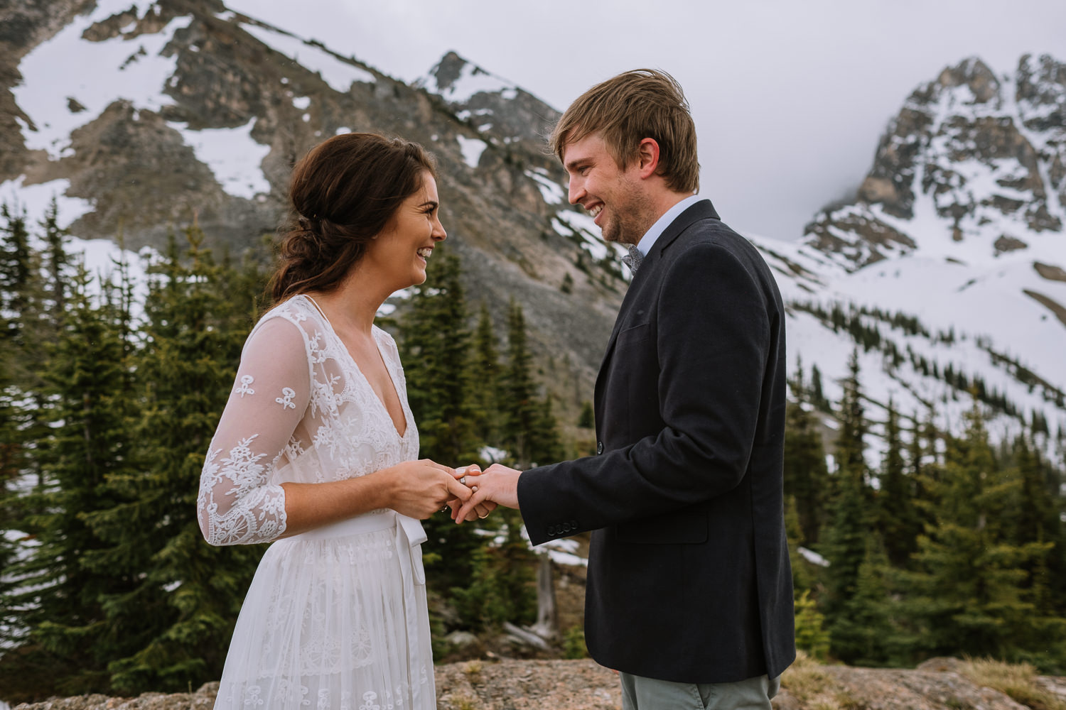 Banff Wedding Photographer Helicopter Wedding Marvel Pass-10042