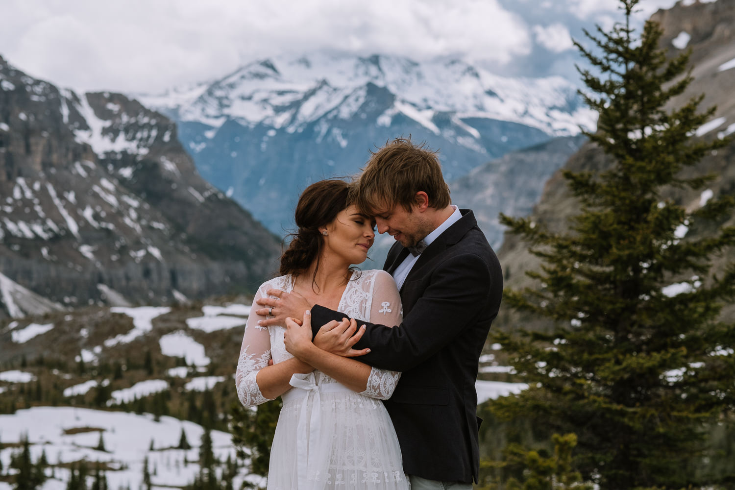Banff Wedding Photographer Helicopter Wedding Marvel Pass-10052