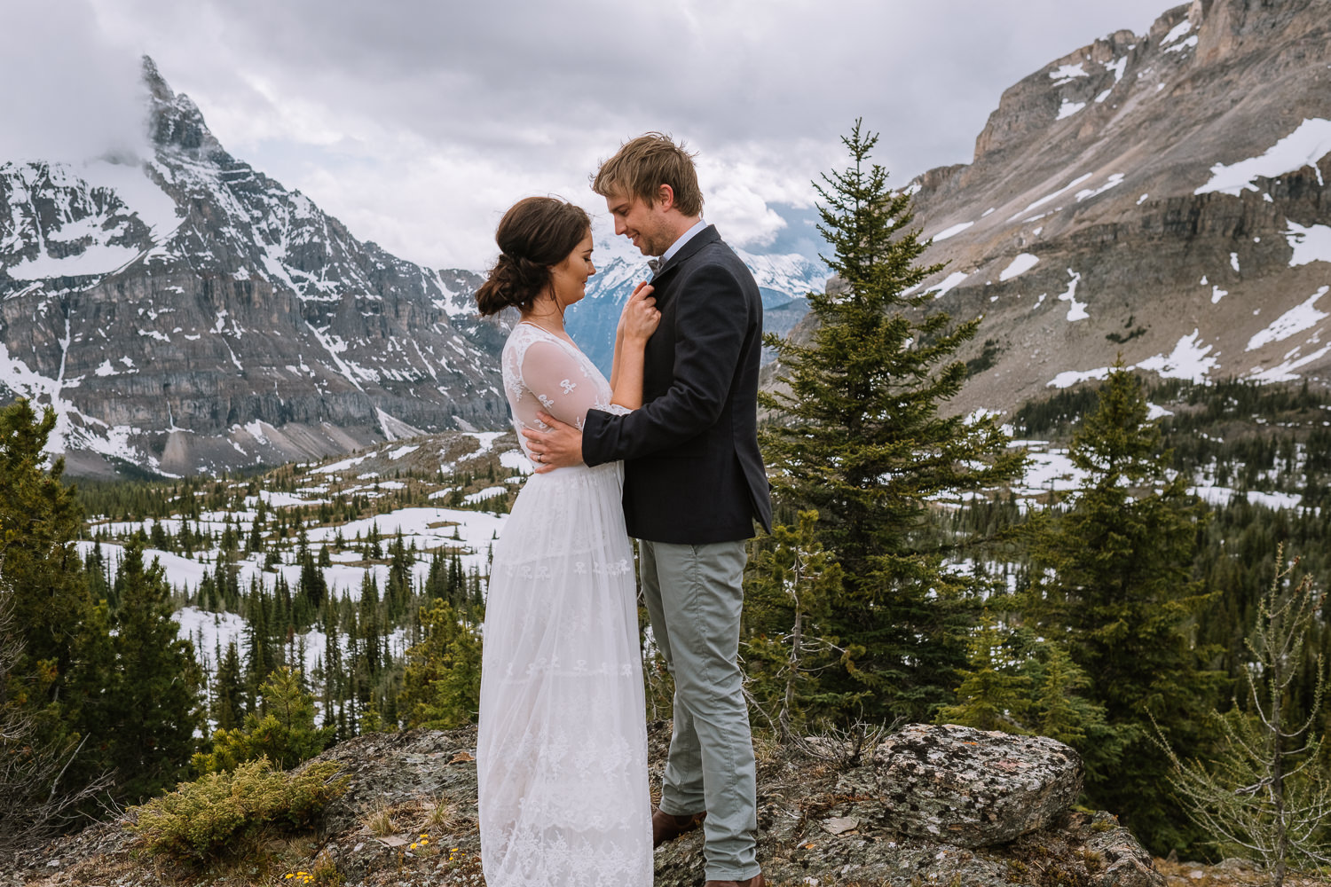 Banff Wedding Photographer Helicopter Wedding Marvel Pass-10058