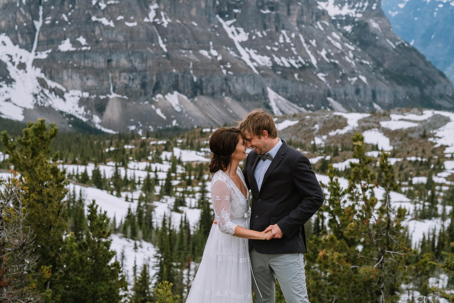Banff Wedding Photographer Helicopter Wedding Marvel Pass-10063