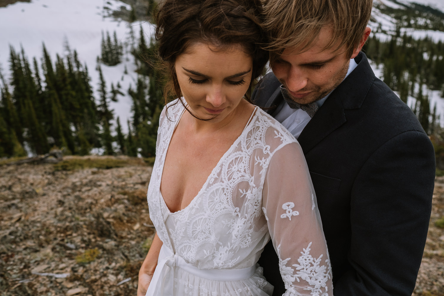 Banff Wedding Photographer Helicopter Wedding Marvel Pass-10071