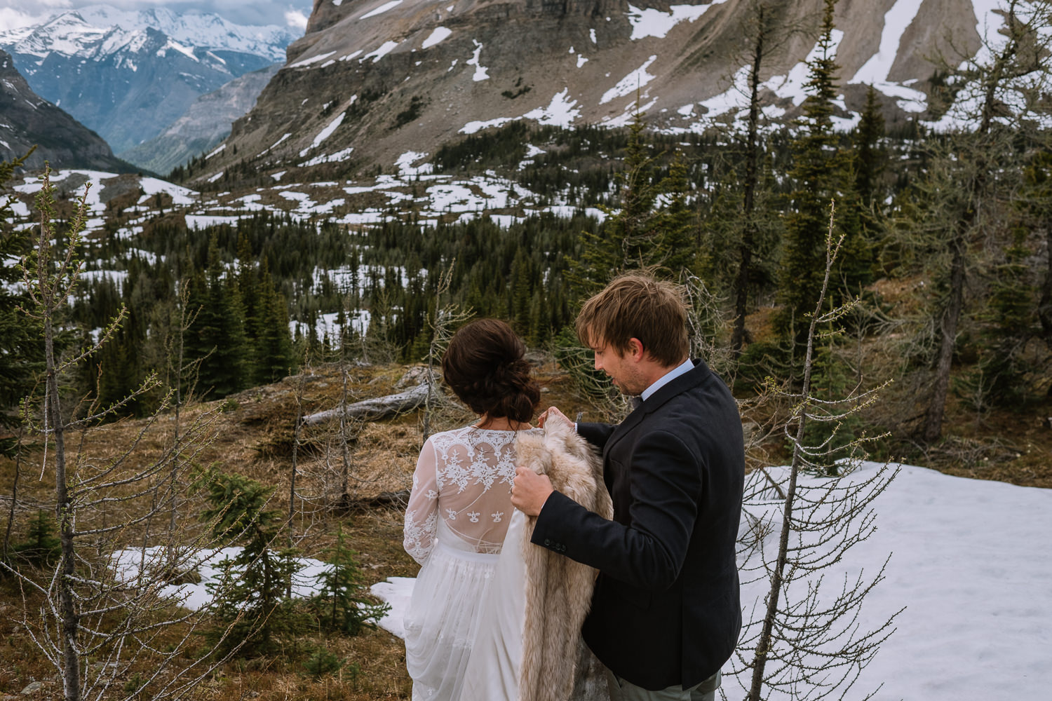 Banff Wedding Photographer Helicopter Wedding Marvel Pass-10080