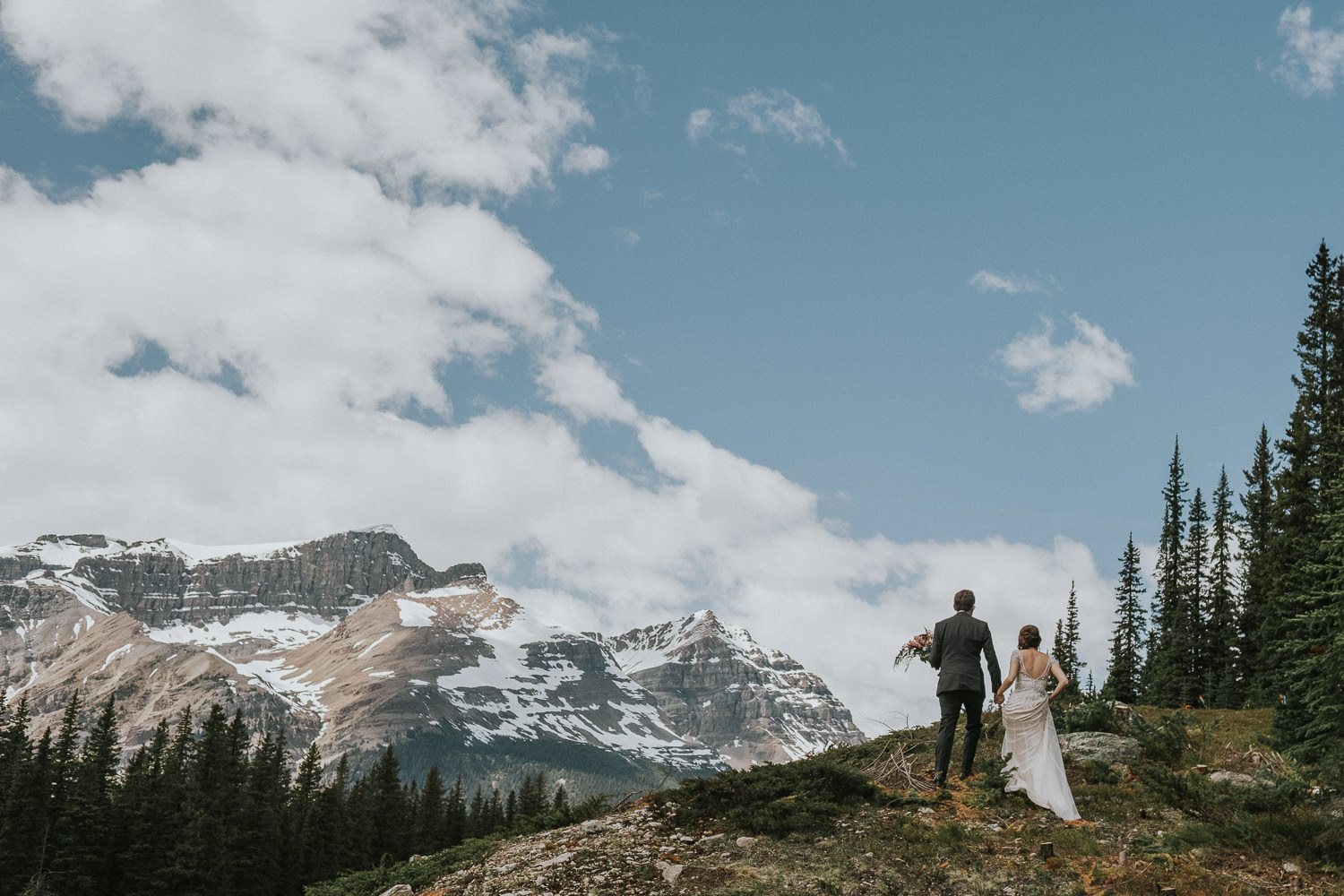 Fairmont Lake Louise Wedding Photography_-14