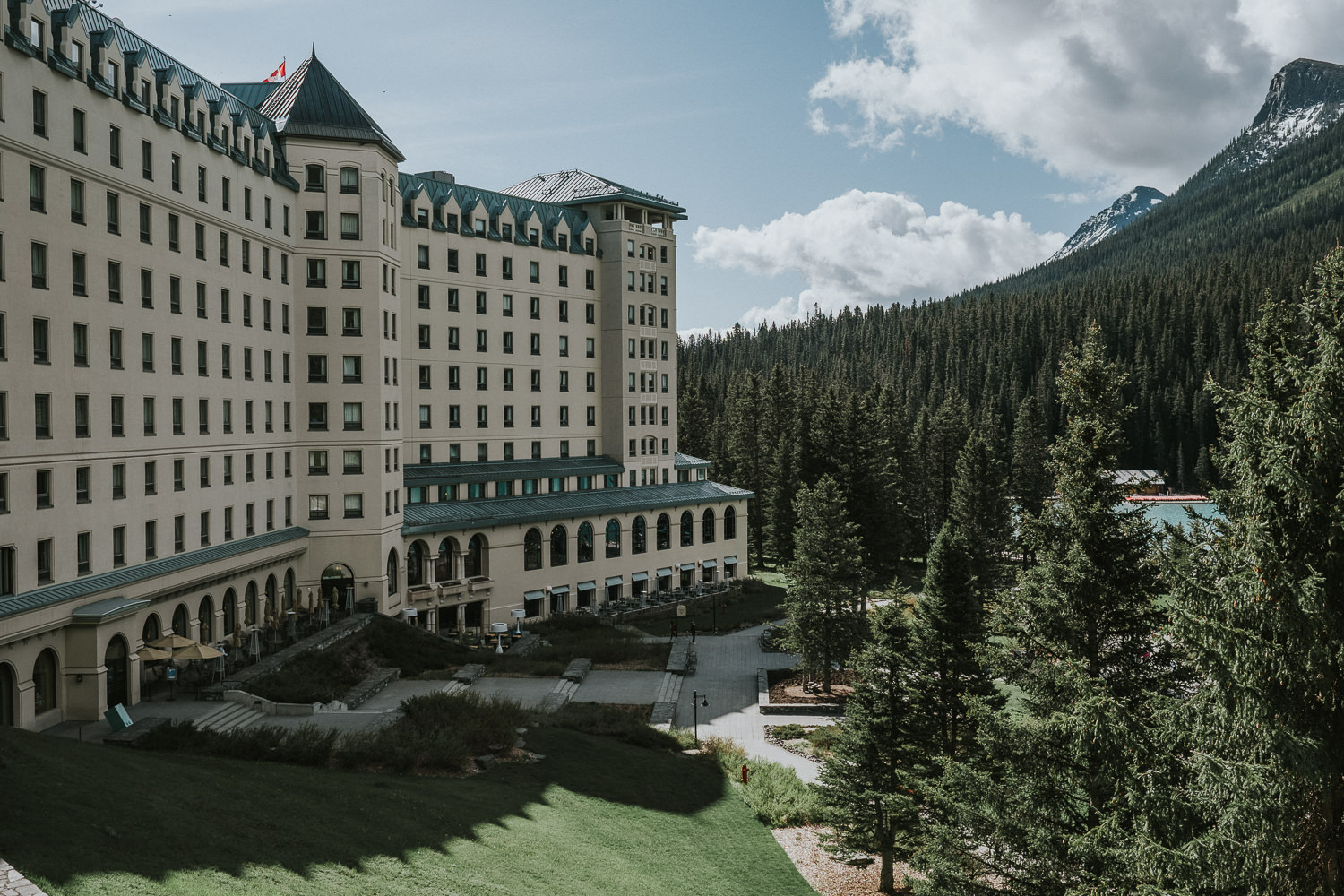 Chateau Lake Louise Wedding