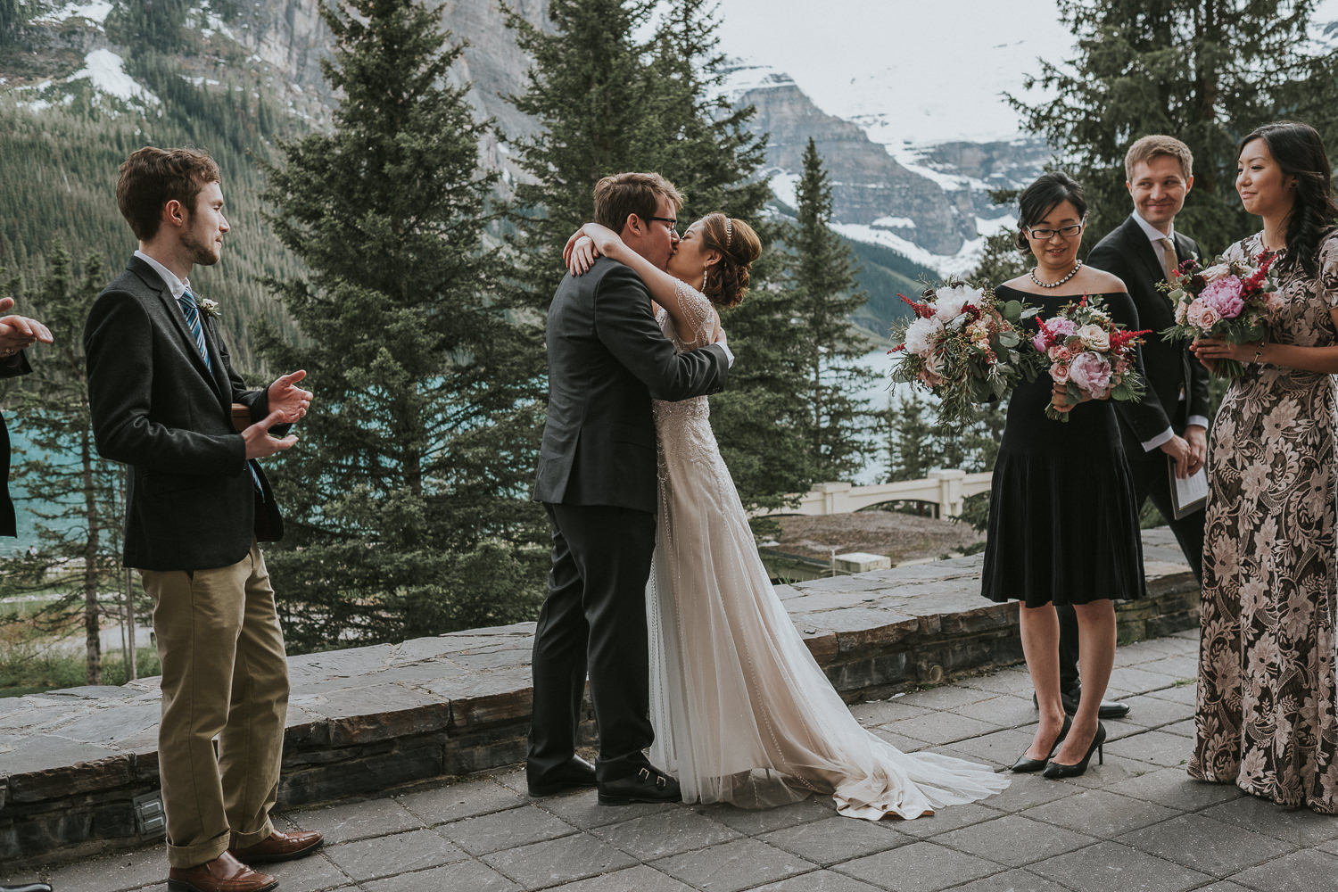 Fairmont Lake Louise Wedding_