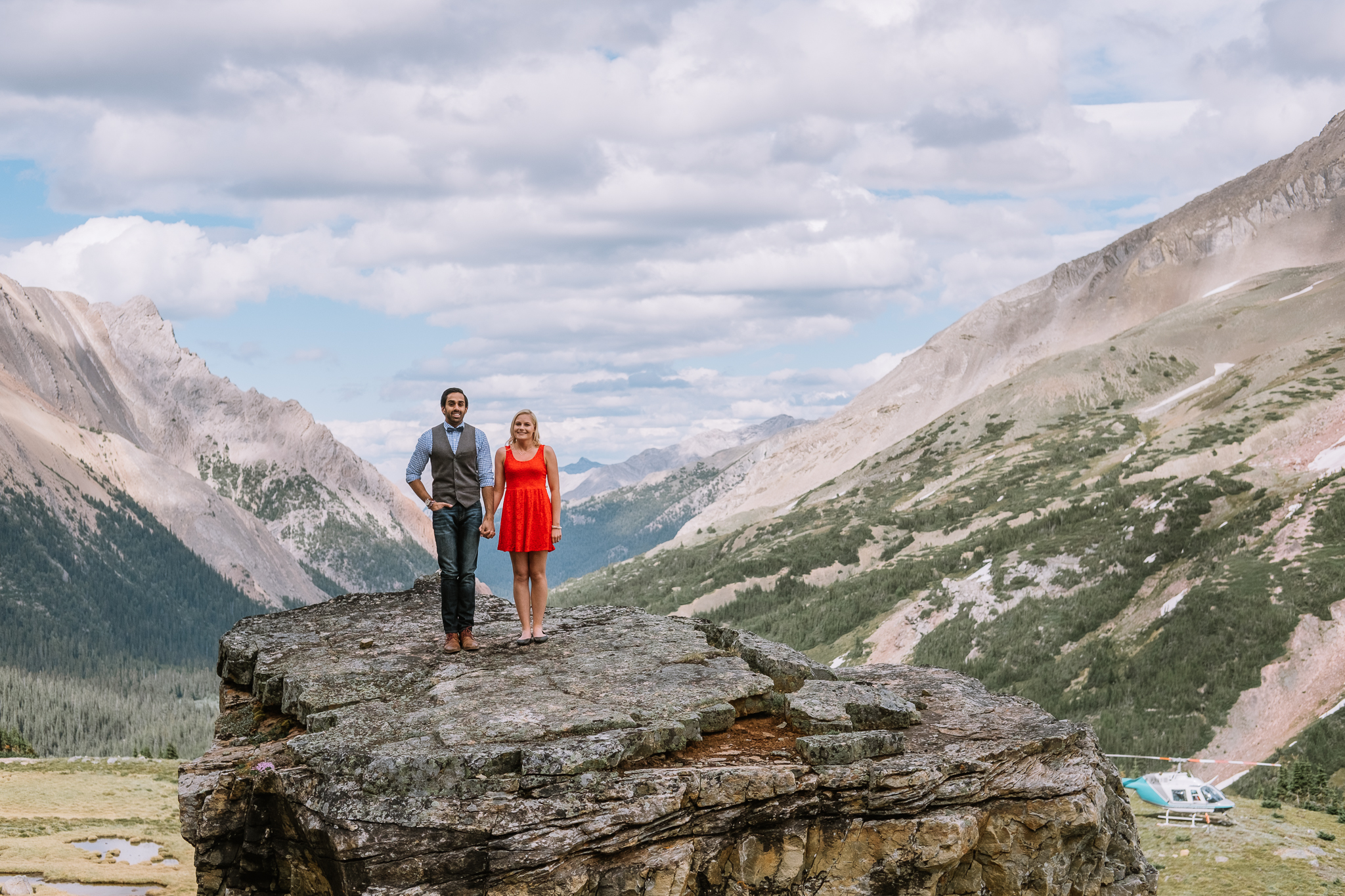 Banff Engagement Session Helicopter Proposal-10020