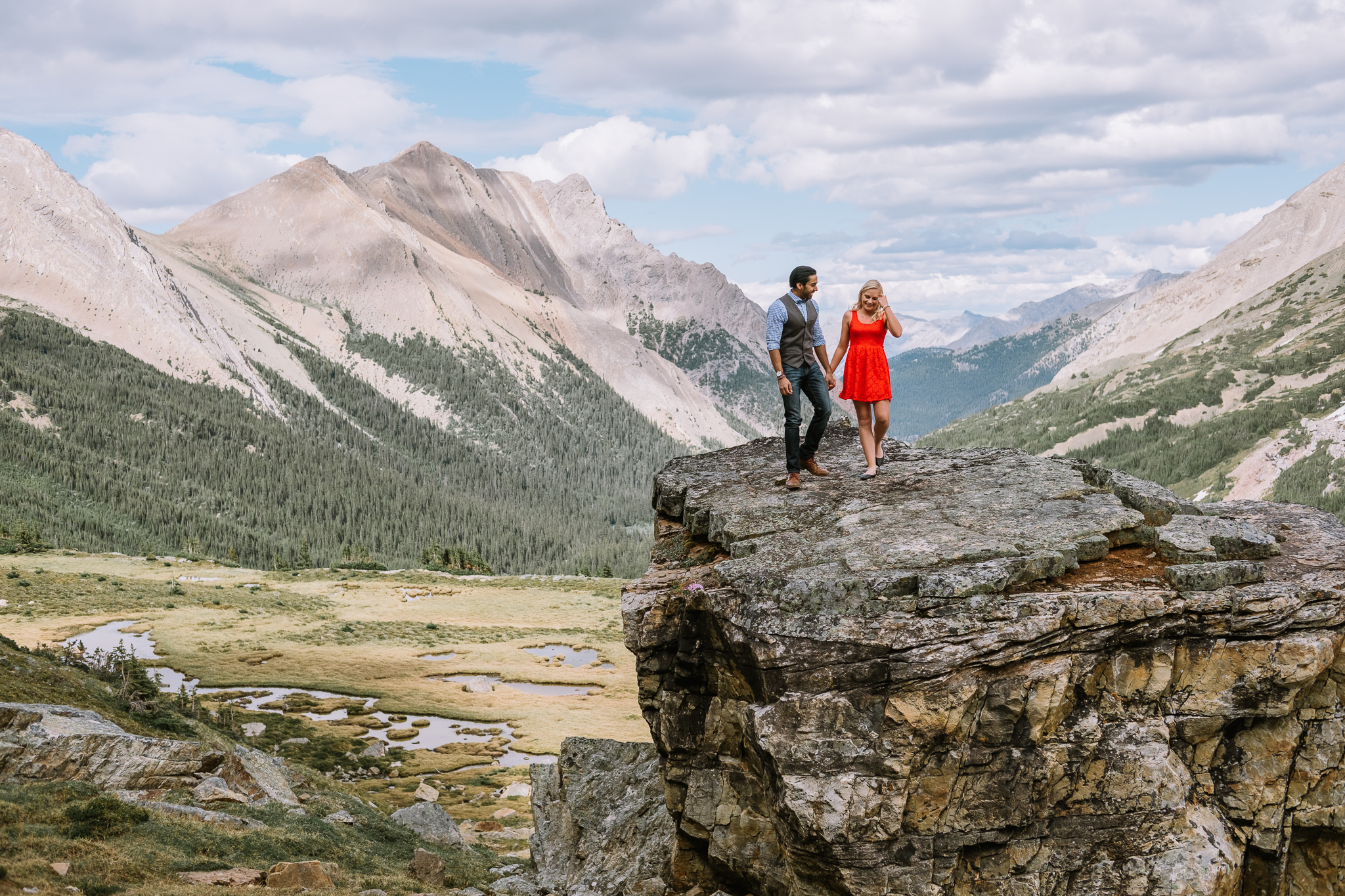 Banff Engagement Session Helicopter Proposal-10022