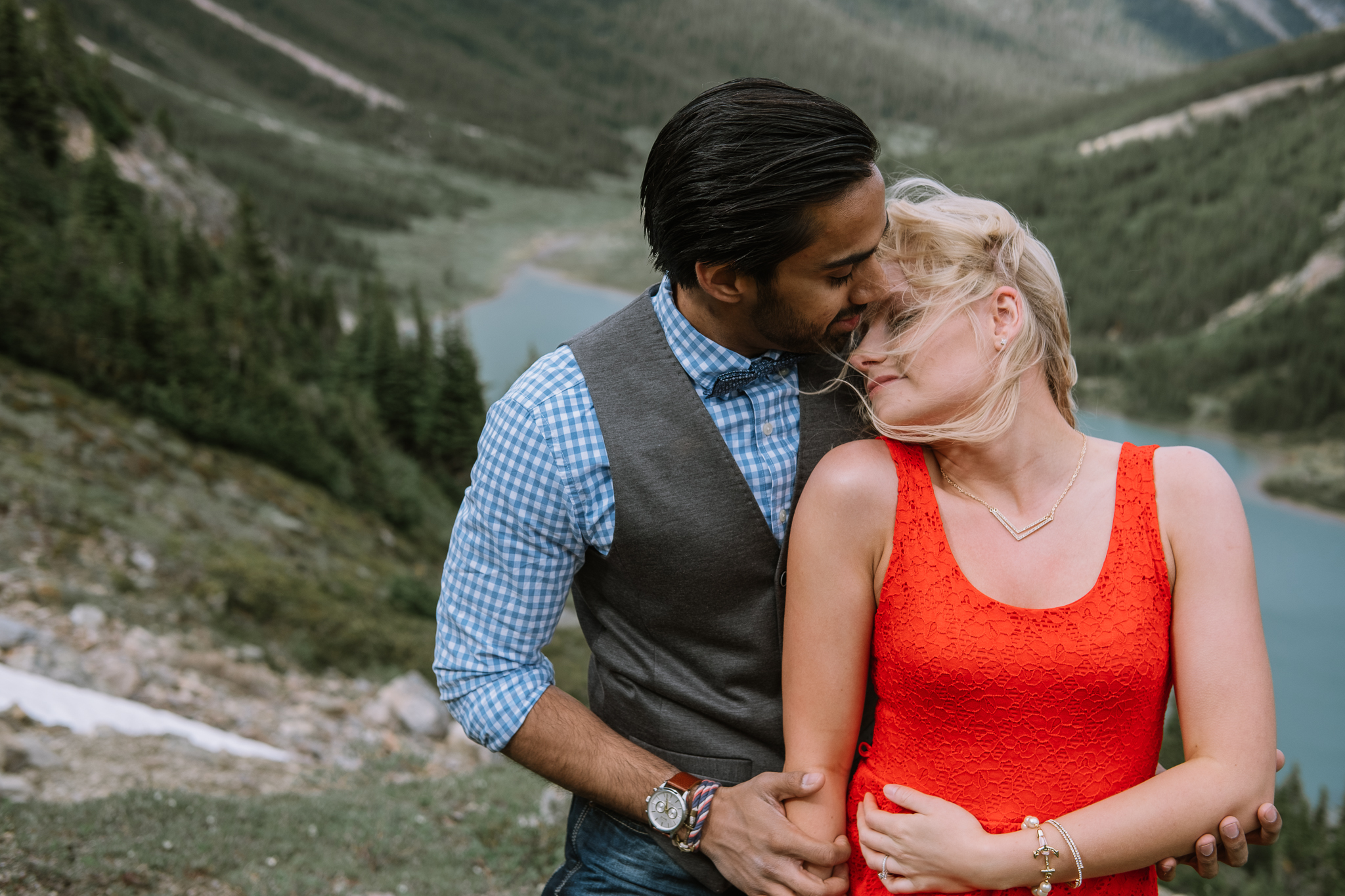Banff Engagement Session Helicopter Proposal-10029