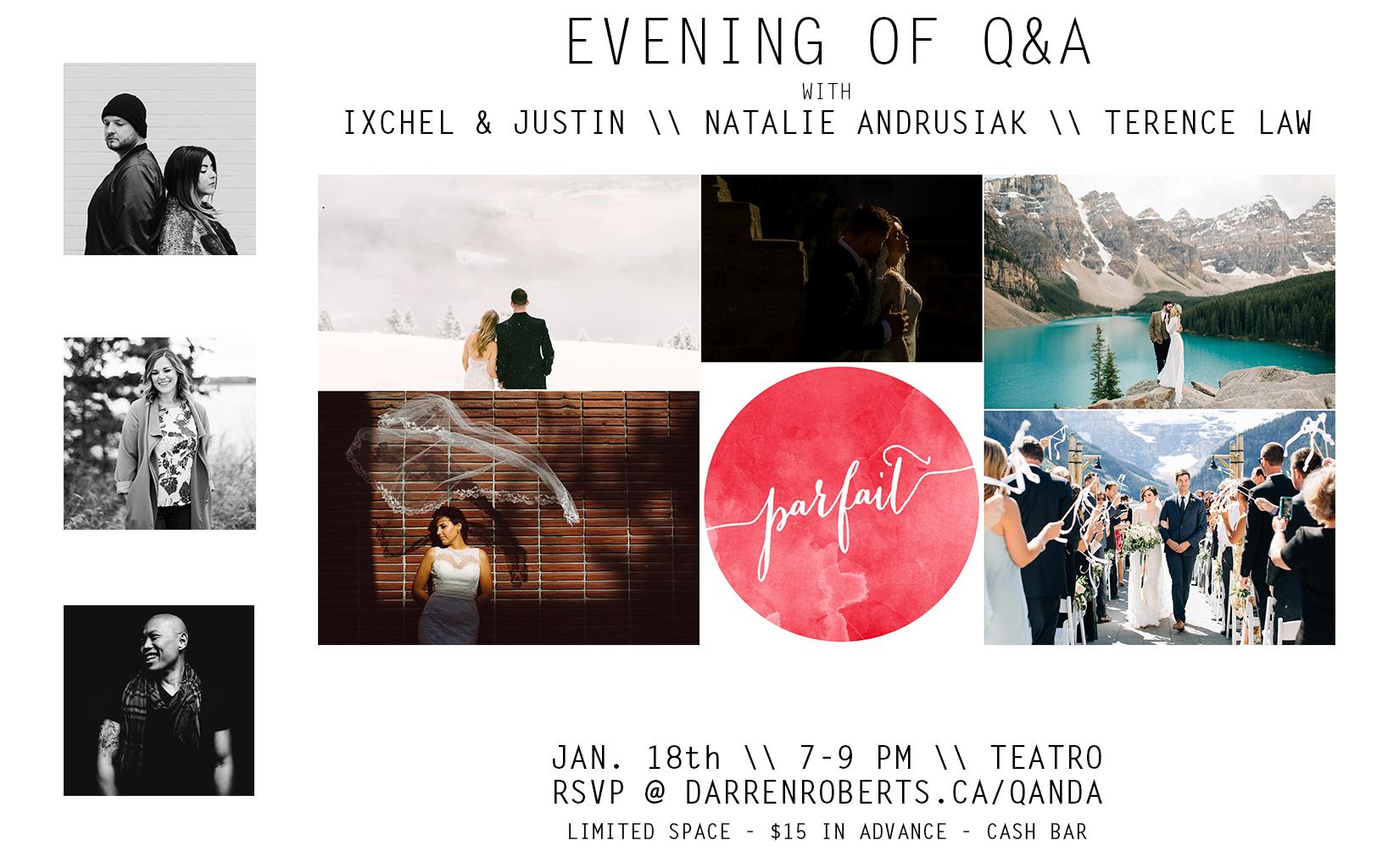 Photographer Q & A Calgary - Darren Roberts
