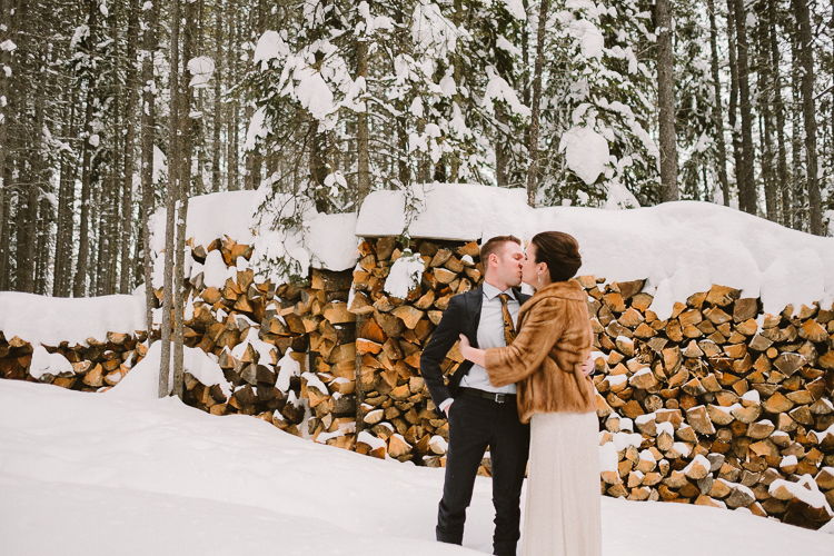 Banff Winter Wedding Storm Mountain Lodge-10032