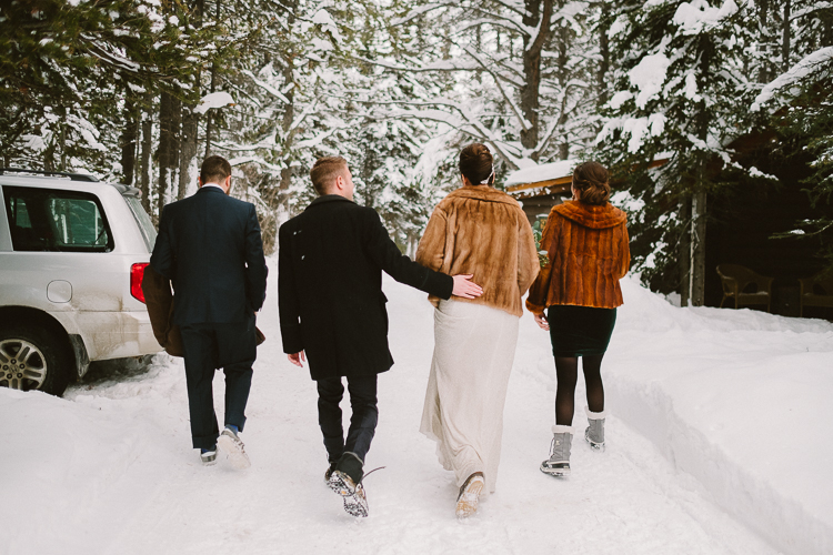 Banff Winter Wedding Storm Mountain Lodge-10033