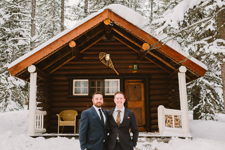Banff Winter Wedding Storm Mountain Lodge-10050