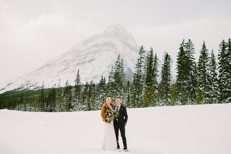 Banff Winter Wedding Photographers