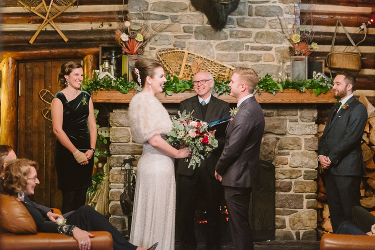 Wedding at Storm Mountain Lodge