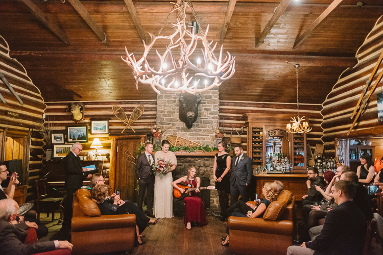 Banff Winter Wedding Storm Mountain Lodge-10115