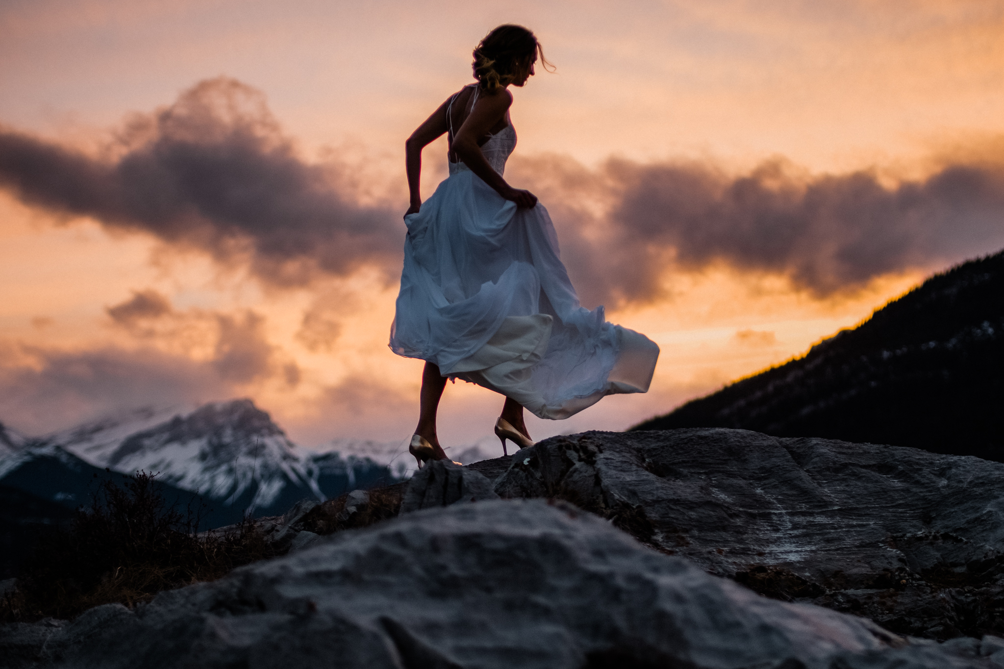 elopement weddings banff