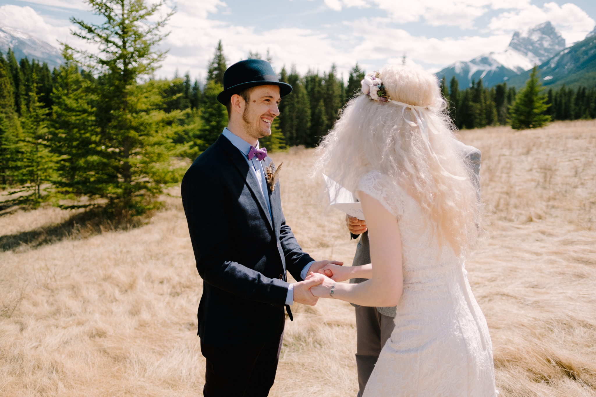 wedding in Canmore