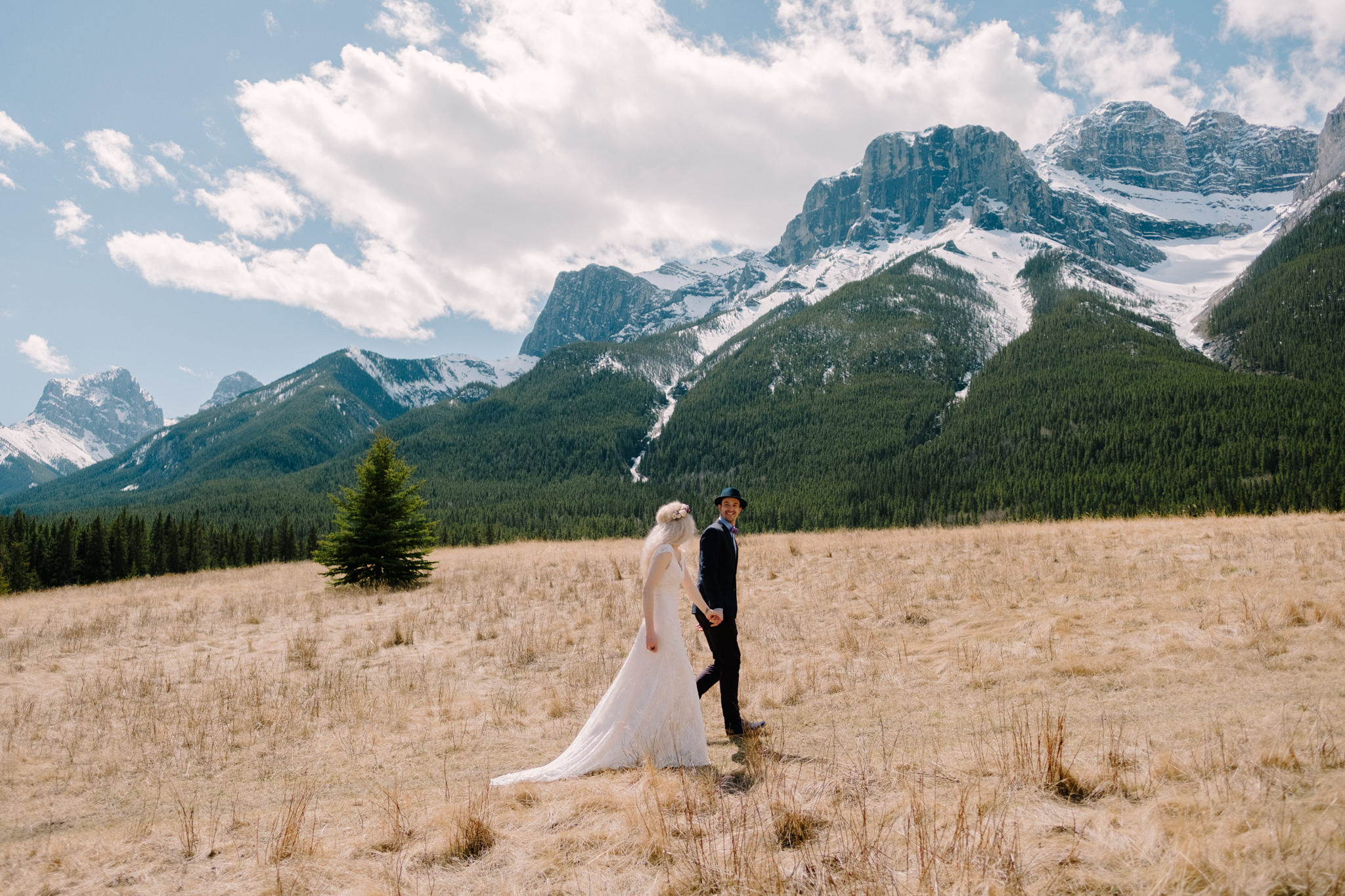 Quarry Lake Wedding in Canmore