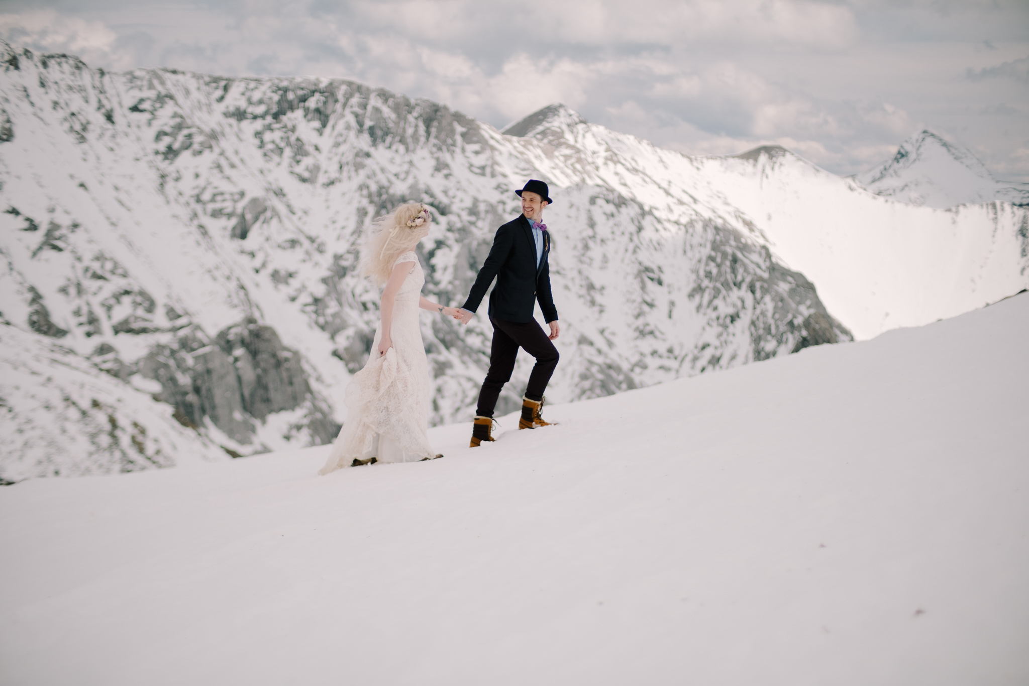 Canmore Wedding Helicopter