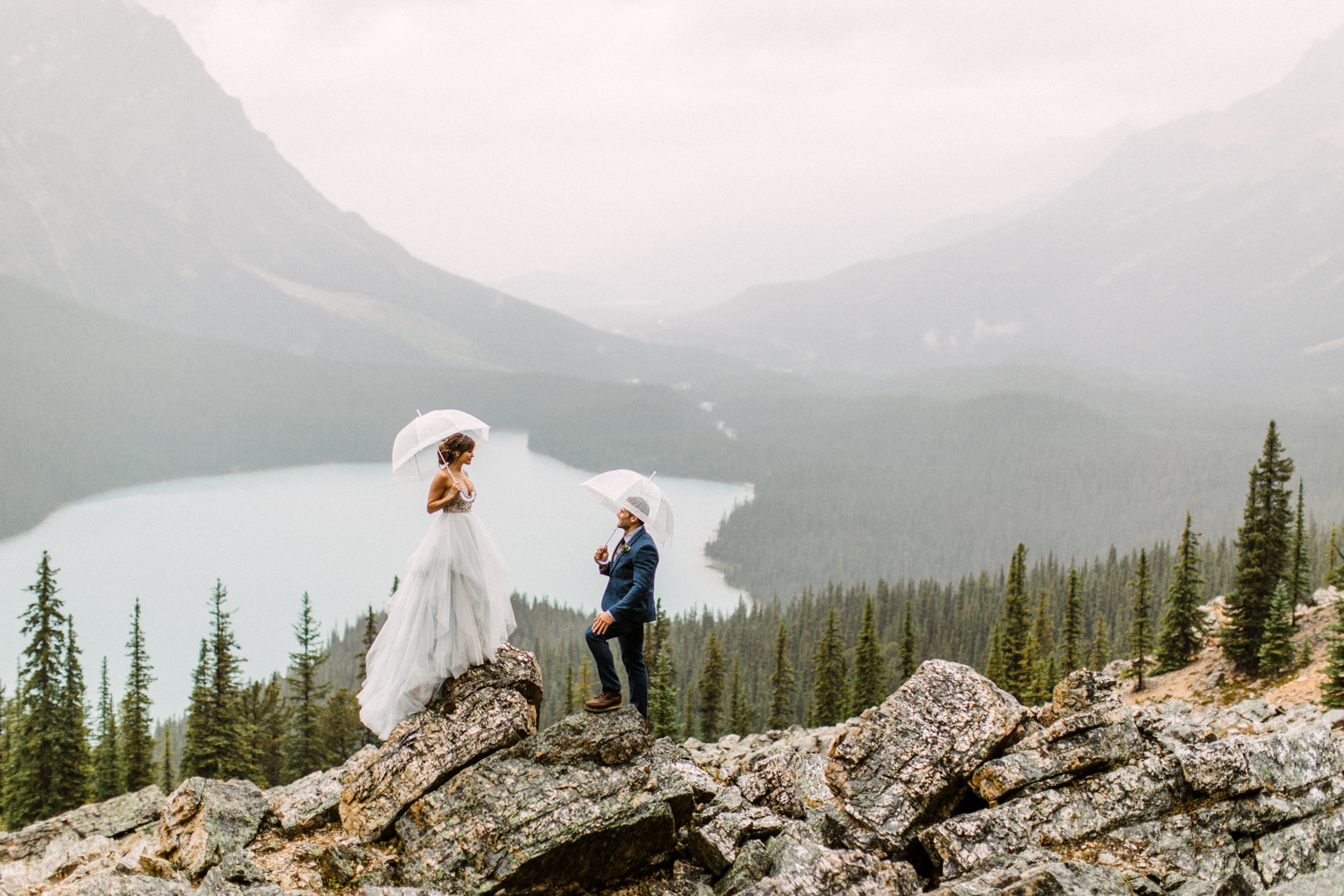 Banff Elopement Photographers