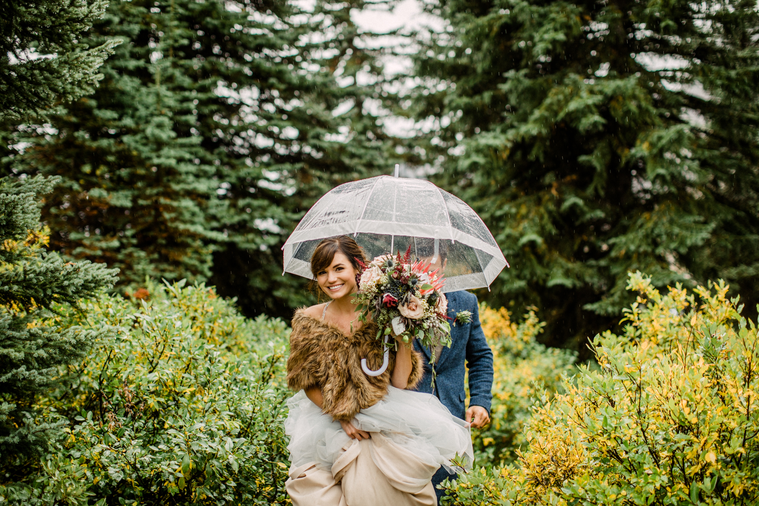 Bow Lake Wedding - Banff Wedding Photographer-1085