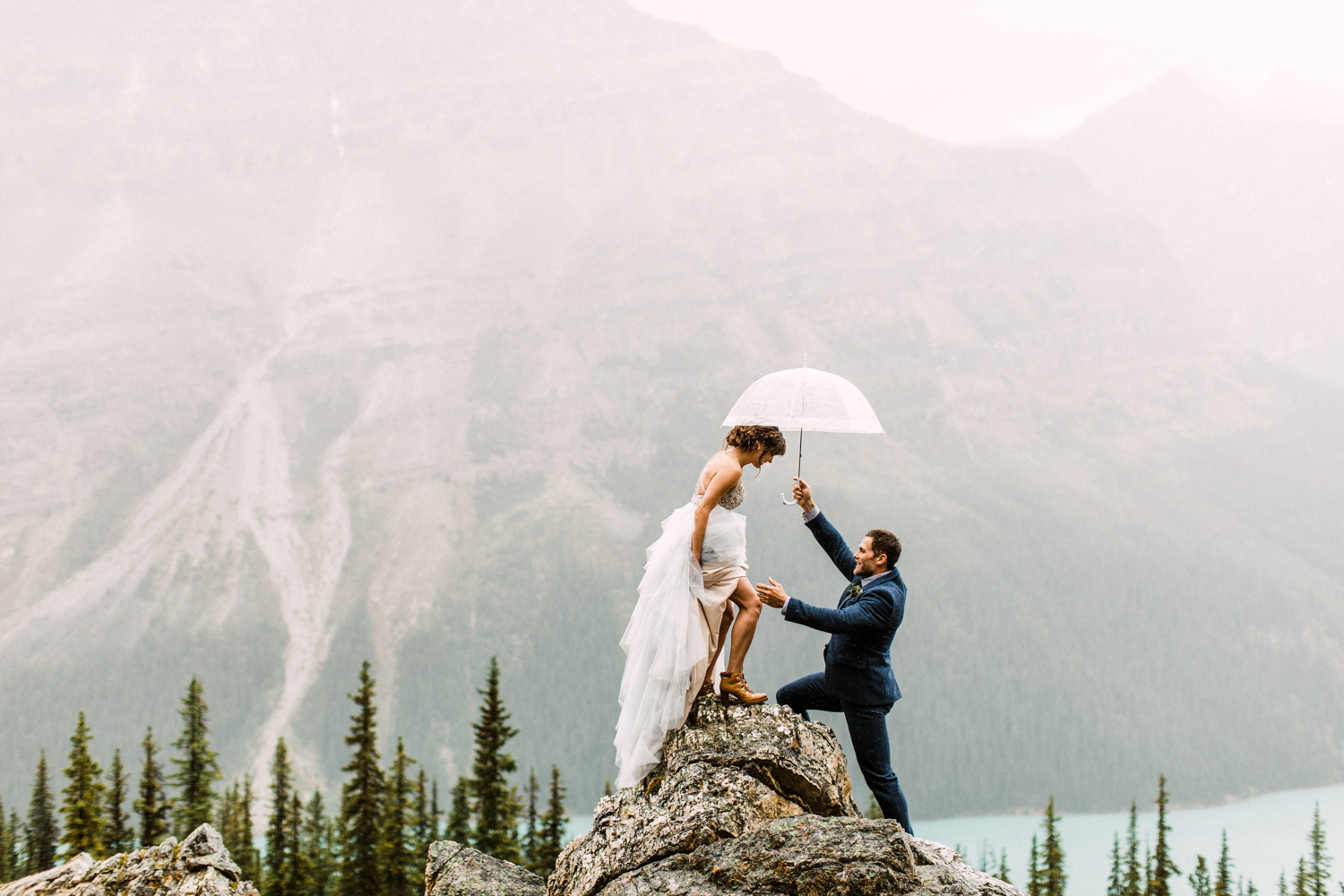 Banff Elopement Wedding Photographers